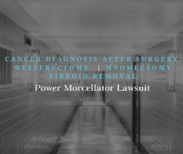 Power Morcellator Lawsuit